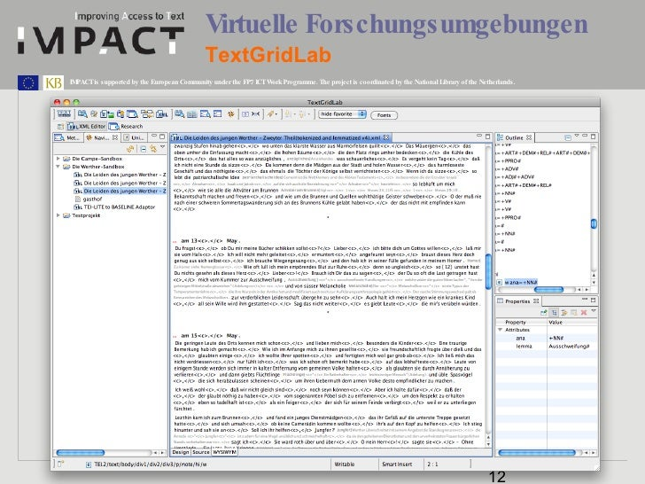 Virtuelle Forschungsumgebungen TextGridLab