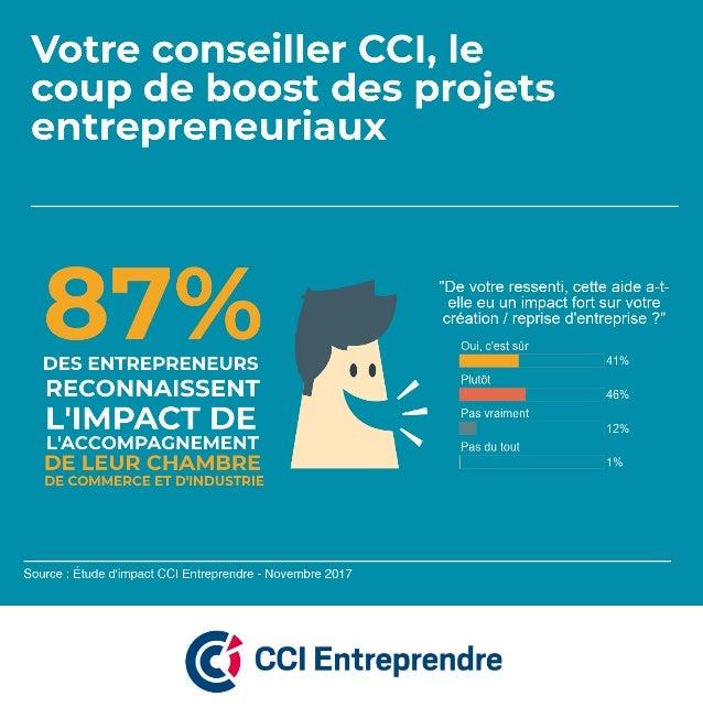 Les entrepreneurs reconnaissent l'impact de l'accompagnement des conseillers Entreprendre des CCI