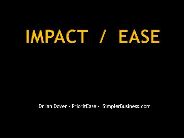 Dr Ian Dover - PrioritEase - SimplerBusiness.com