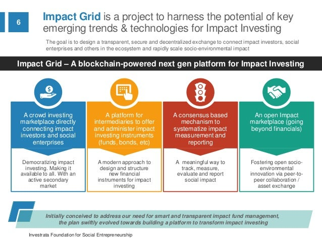 Impactgrid the next gen platform for impact investing powered by b services sharing economy 6 malvernweather Image collections