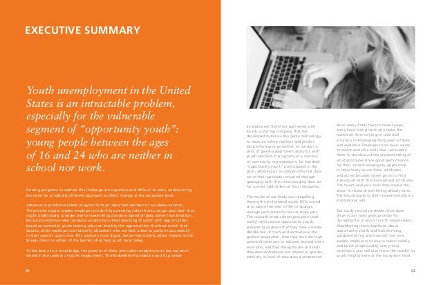 Impact Hiring: How Data Will Transform Youth Employment Slide 3