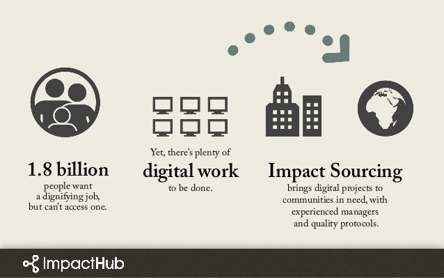 1.8 billion people want a dignifying job, but can't access one. Yet, there's plenty of digital work to be done. Impact Sou...