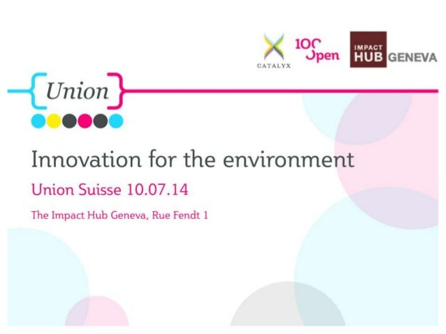 100%Open 2014 The Union Suisse 211 July 2014