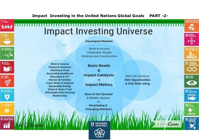 Impact investing in the un global goals part 2