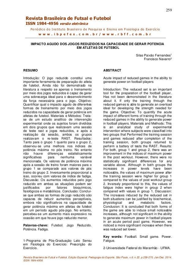 Impacto agudo dos jogos reduzidos (artigo proprio 01) dc3acbb279890