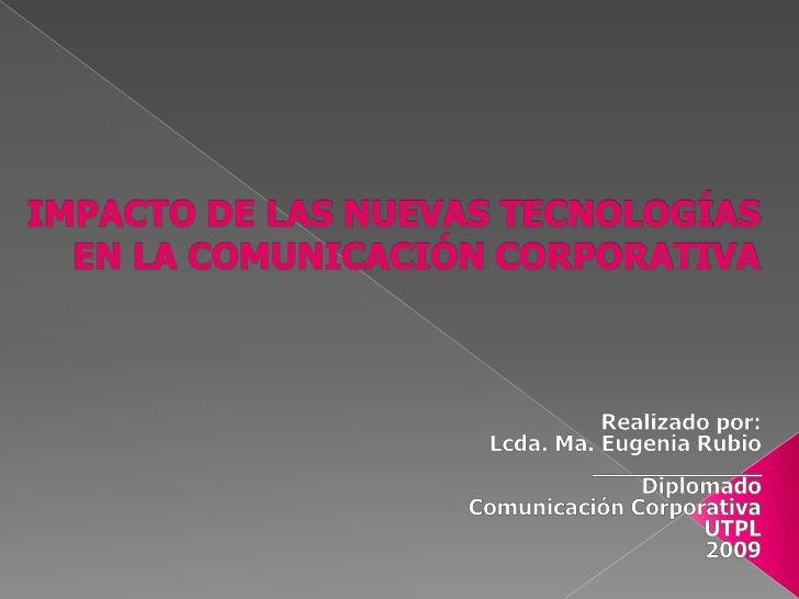 La primera comunicación de la organización fue la comunicación interna  «La comunicación interna empezó a imponerse como u...
