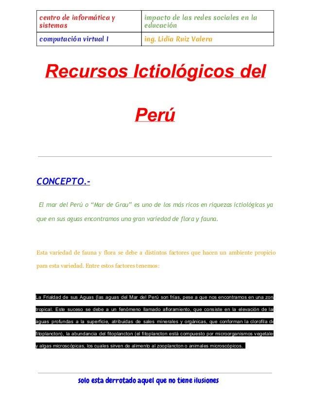 centro de informática y sistemas impacto de las redes sociales en la educación computación virtual I ing. Lidia Ruiz Valer...