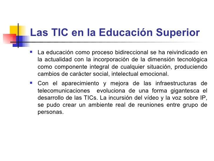 Impacto de las TIC Slide 2