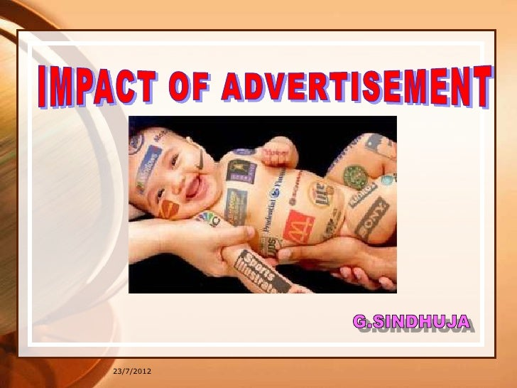 efects of negitve advertisment The effects of social media on children by angela barnes and christine laird social media is quickly evolving in front of our eyes and it is almost impossible to.