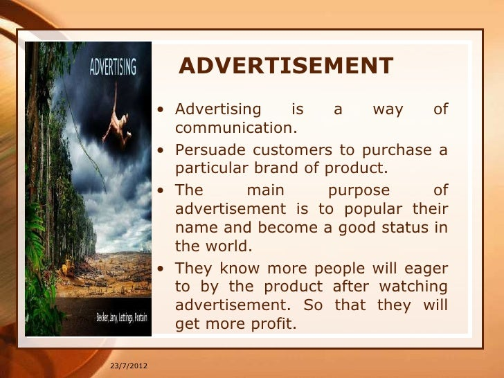 impact of brand image and advertisement Home impact of brand on consumer buying impact of brand on consumer buying november 10, 2008 and may include brand image, features, price research is divided regarding the relative impact of advertising, price.