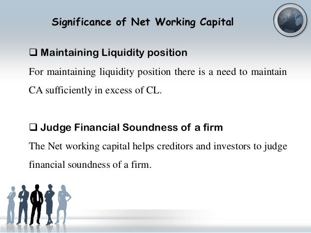 working capital recommendations and impact of In order to run the company successfully, the fixed and the current assets play a commendable role managing the working capital is mandatory because, it has a.