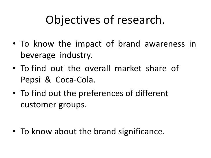 research cunsumers preferences coca cola and pepsi Coca-cola essays and research papers  diet coke out-sold pepsi in 2010 coca cola sold 16 billion cases of  research on cunsumers' preferences for coca cola.