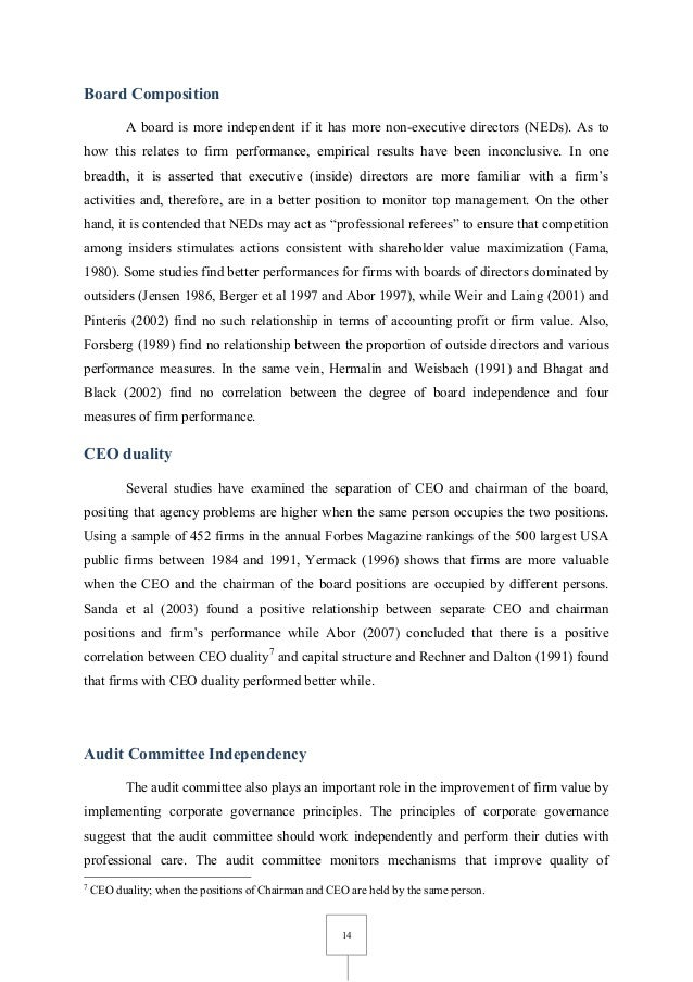 ithe impact of corporate governance and Impact of corporate governance on corporate financial performance priyanka aggarwal1 1(assistant professor, department of commerce, shaheed bhagat singh college, university of delhi, india.