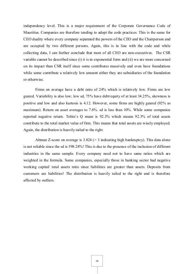 corporate governance and its impact on Corporate governance a report on code of conduct and its impact on corporate governance submitted to: mr resham raj regmi instructor corporate governance.