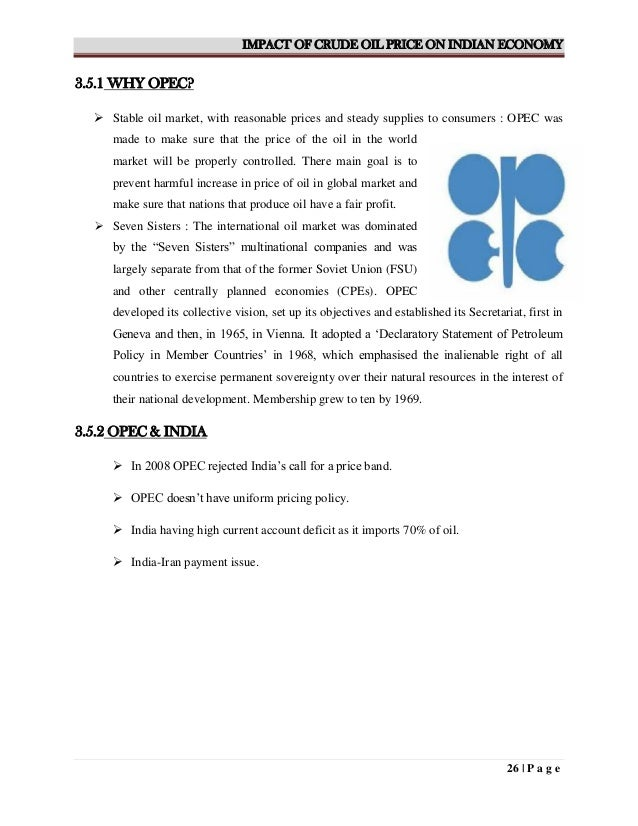 effects of crude oil prices The impact of global fall in oil prices on  impact on the global fall in oil prices on the nigerian crude oil revenue  what are the effects of the global.