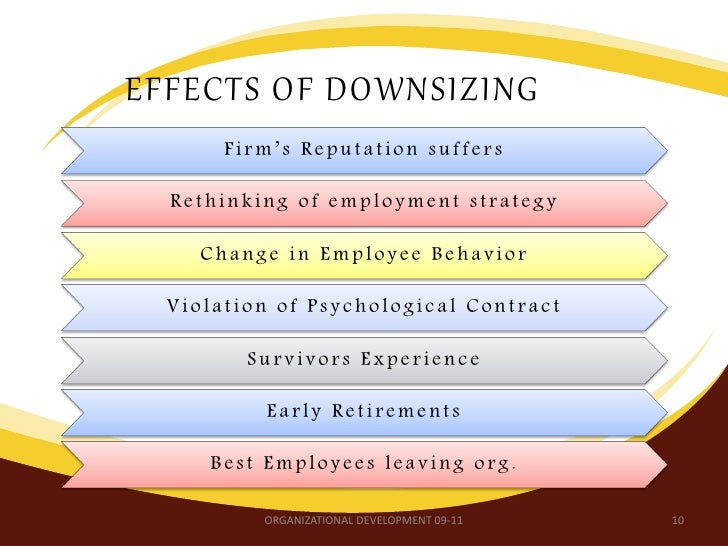 what are the effects of downsizing termination and layoffs in healthcare
