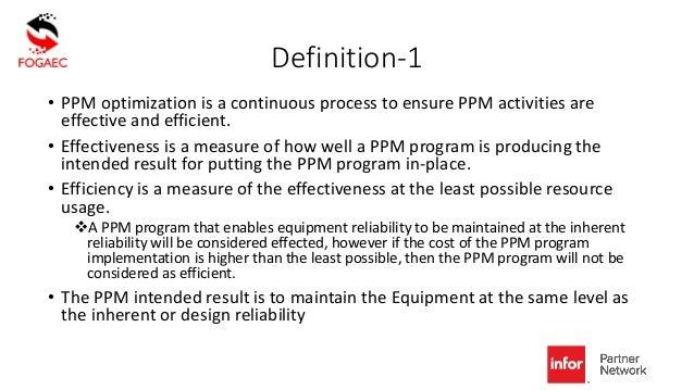 Impact of eams on ppm optimization Slide 2