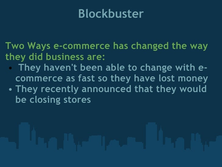 impact of e commerce Although business literature might seem to suggest e-commerce is the solution to all your company problems, it's important to examine its pros and cons.