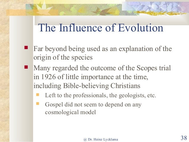 The importance of the Gospels