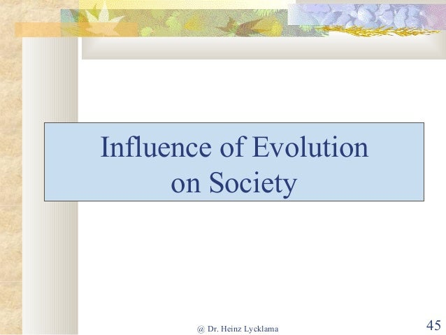 the evolution of society The language spiral how society evolved language claire ceriani spring,  2010 senior thesis adviser: dr paul grobstein bryn mawr college table of.
