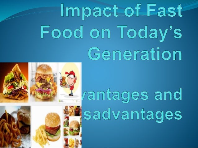 Causes and Effects of Fast Food Popularity