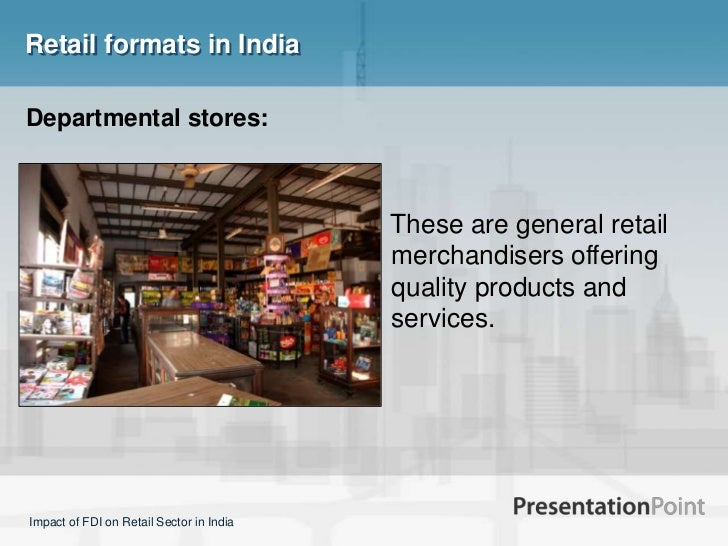 The impact of FDI in retail on SME sector