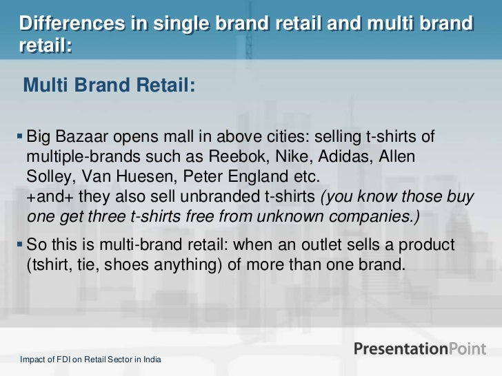 what is single brand retail