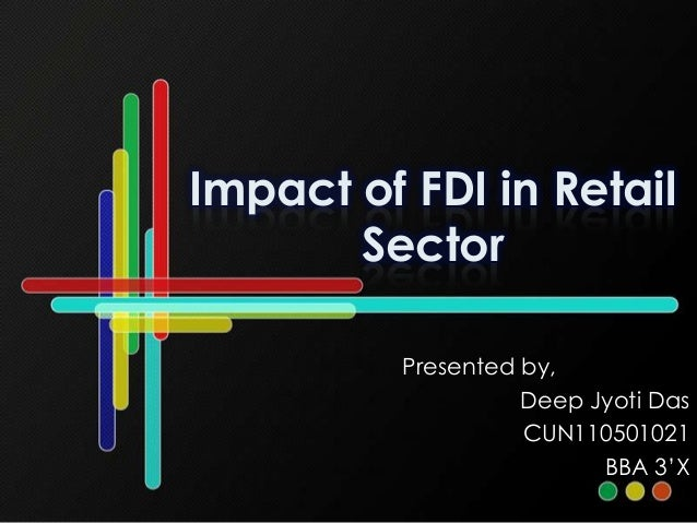 impact of fdi on retail sector