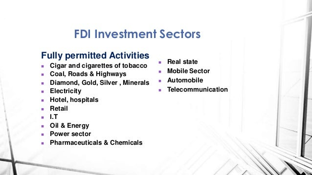 impact of fdi on nigerian economy Fdi has a positive and insignificant impact on the growth of nigerian economy for the period under study gfcf which was used as a proxy for domestic investment has a positive and significant impact on economic growth.