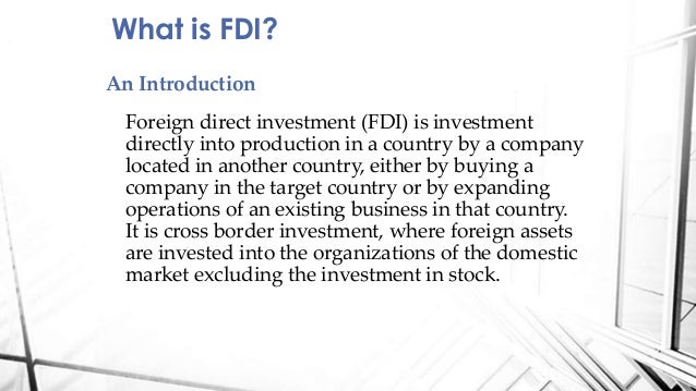 current status of fdi What is the current state of economy of india foreign direct investment there are various economic indicators reflecting the current state of the economy.