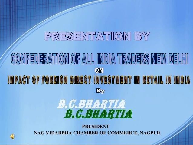 PRESIDENT NAG VIDARBHA CHAMBER OF COMMERCE, NAGPUR