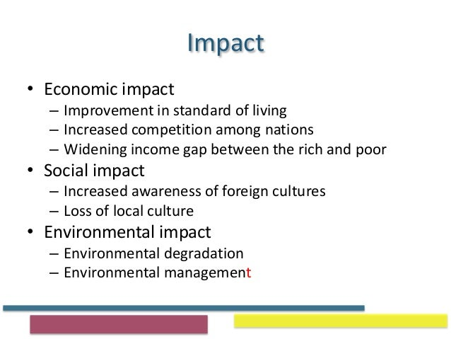 impact of national income on standard of living