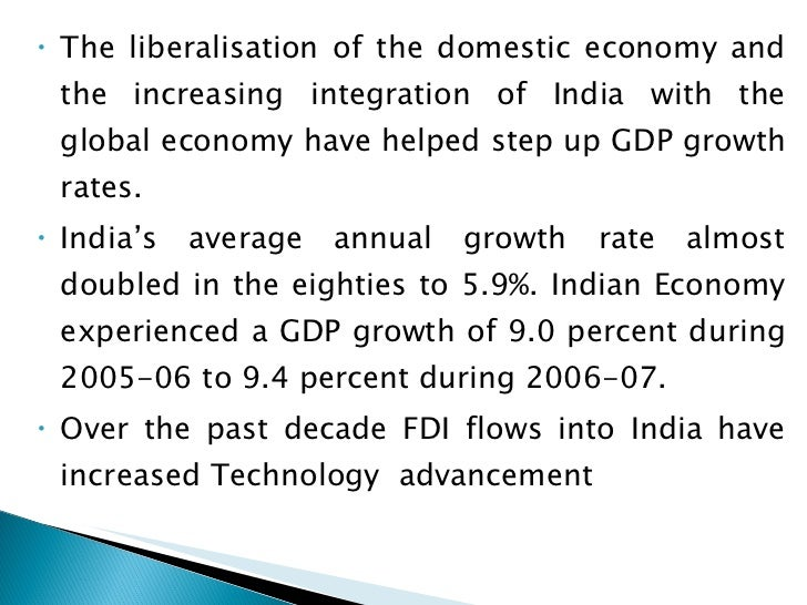 impact of disinvestment on indian economy Impact of political stability in india on economic  privatization and disinvestment  the indian economy is passing through a difficult phase caused by.
