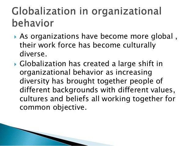 impact of globalization on organizational behavior