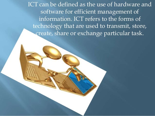 ict on education Impact of elearning - impact of ict on education - points in brief.