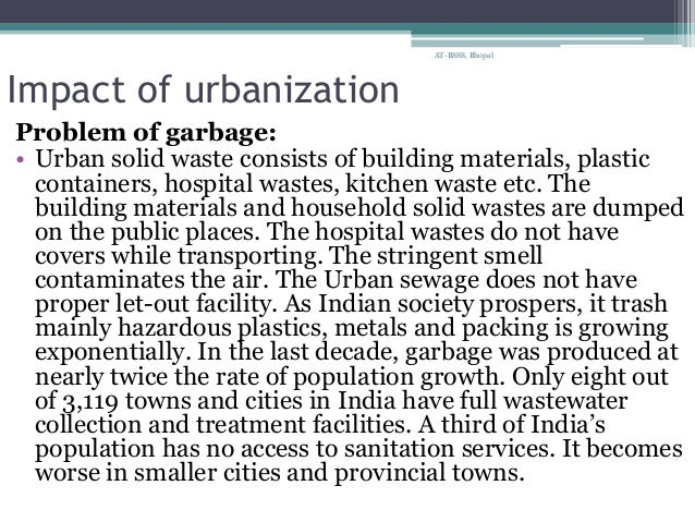 how are urbanization and industrialization related