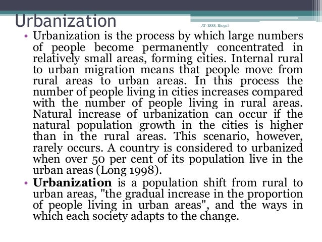 impact of industrialization urbanization and globalization Causes of urbanization industrialization  to lessen the negative effects of rapid urbanization while at the same time  24 serious effects of global warming .