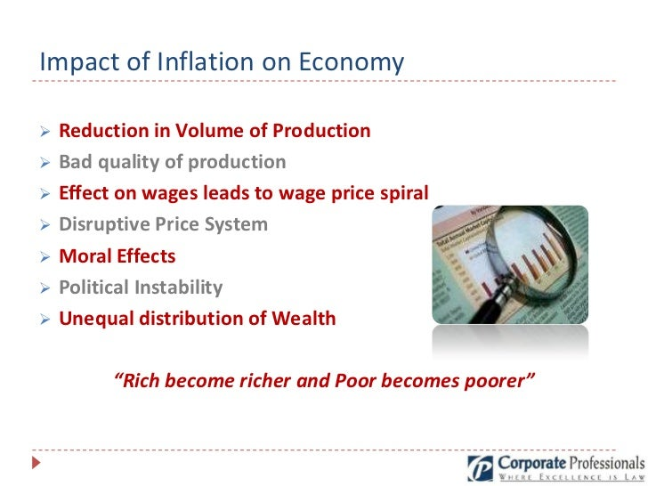 inflation impact on economy Tradeoffs involved in selecting the right kind of techniques for assessing economic impacts,  economy, resulting from changes in  economic impact (income,.