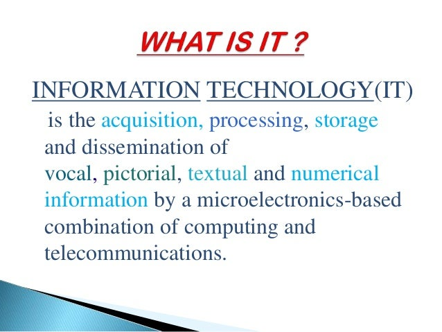 information technology in environment Advertisements: read this article to learn about the role of information technology in environment and human health role of information technology in environment.