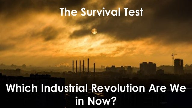 favoriot The Survival Test Which Industrial Revolution Are We in Now?