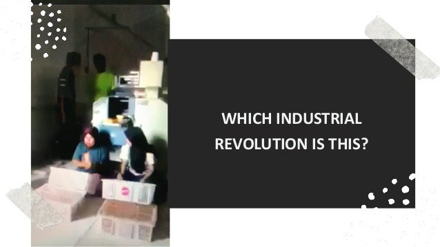favoriot WHICH INDUSTRIAL REVOLUTION IS THIS?
