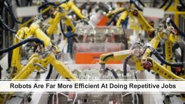 favoriot Robots Are Far More Efficient At Doing Repetitive Jobs