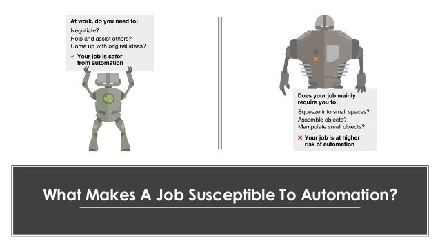 favoriot What Makes A Job Susceptible To Automation?