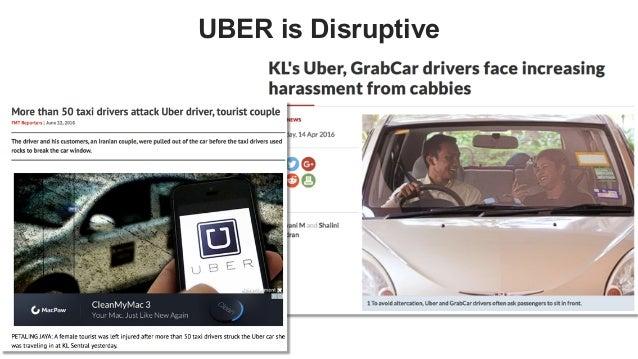 favoriot UBER is Disruptive