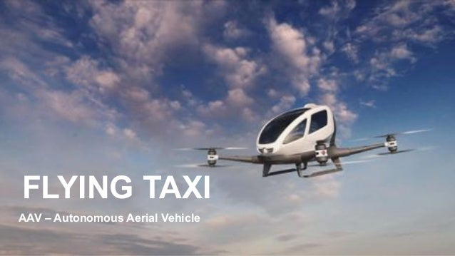 favoriot FLYING TAXI AAV – Autonomous Aerial Vehicle