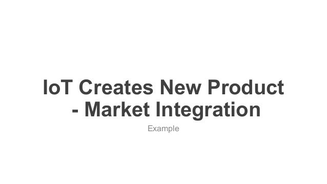 favoriot IoT Creates New Product - Market Integration Example