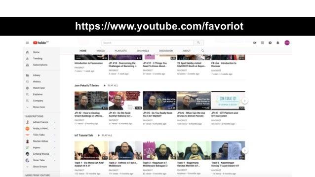 favoriot https://www.youtube.com/favoriot