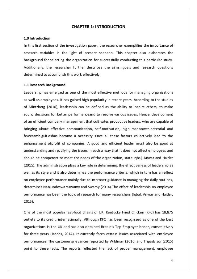 kfc leadership management paper Is your paper on the porter's 5 forces analysis of kfc stressing you read the analysis below and get tips on how to write your assignment.