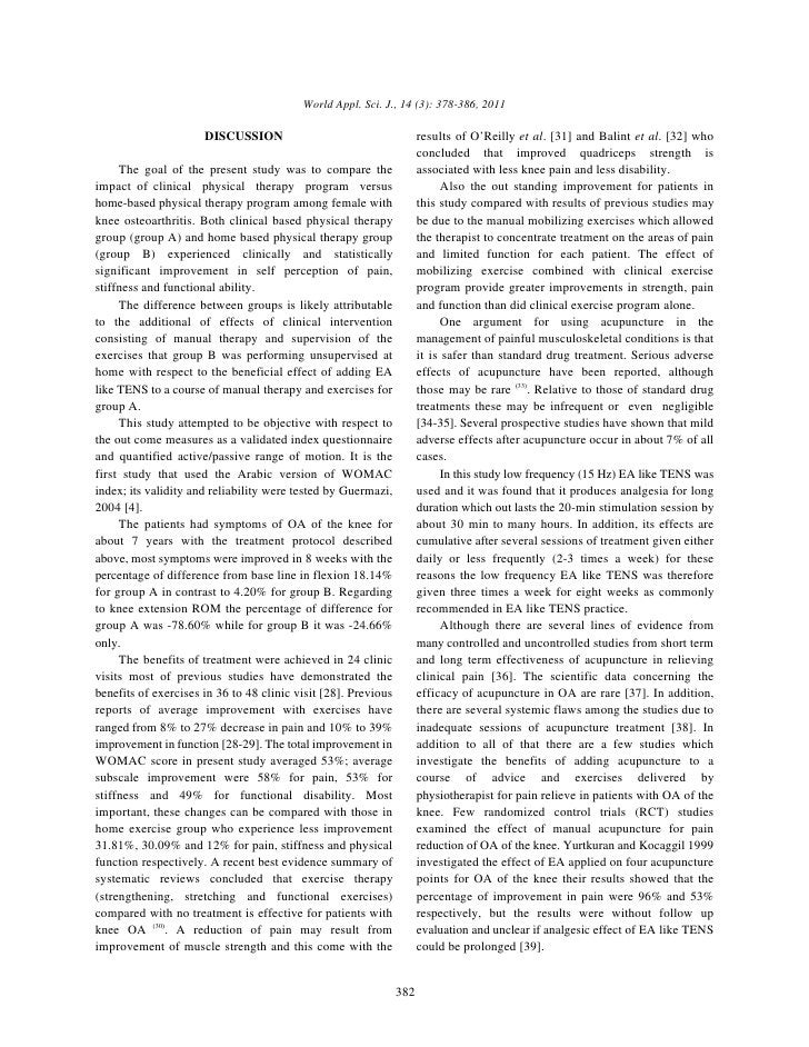 World Appl. Sci. J., 14 (3): 378-386, 2011                      DISCUSSION                                      results of...