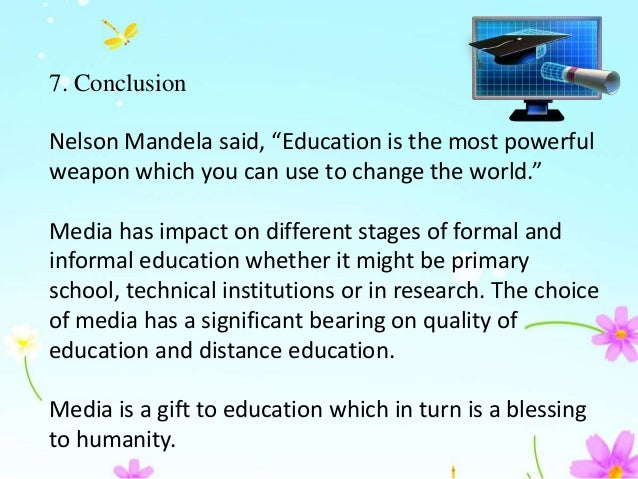essay on role of mass media in education The role of media in democracy: a strategic approach  contribute to media development (such as civic education or communication campaigns  role of media.
